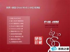 新萝卜家园Win8.1 清爽纯净版64位 2021.04